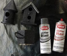 haunted birdhouses | Make a Haunted Birdhouse Village