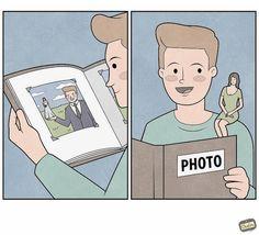 Gudim Anton's humorous comic strips take a fresh perspective on the mundane Anton, Jean Paul Dubois, Deep Dark Fears, Visual Puns, God Of War, Graphic Design Illustration, Funny Cute, Comic Strips, Illustrations