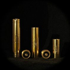 Dynasty Mechanical Mod - Limited Edition, All Brass Mechanical Mod with an Adjustable Floating Pin.  This mod ships with both the 18650 & 18350 tubes.