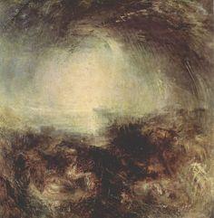 Turner, Joseph Mallord William: Schatten und Dunkelheit – Der Abend vor der Sintflut (Shade and Darkness – the evening of the Deluge)