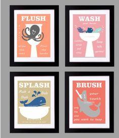 Kids Bathroom Print [SOURCE]