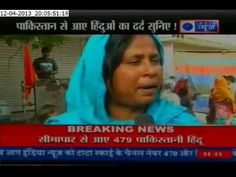 480 Pakistani Hindus who came to India leaving their family and property say that they would rather kill themselves than go back to Hell. Listen to their tragedies - how fanaticism is destroying humanity. How Hindus have reduced from 24% in 1947 to just 0.5% of Pakistani population today.India must take ownership of all minorities - Hindus, Sikhs and Christians - in Pakistan and Bangladesh. http://agniveer.com/pakistani-hindus-...