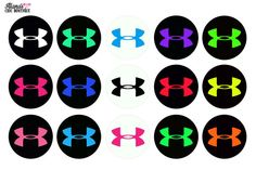 INSTANT DOWNLOAD - Under Armour Logo Athletics Bottle Cap Images on Etsy, $1.00