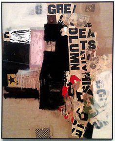 The Robert Rauschenberg Foundation on Tumblr • Robert Rauschenberg, Small Rebus, 1956. Oil,...