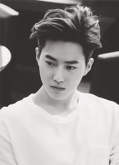 Suho, SMILE! DONT LOOK SO MAD! ITS ONLY A LITTLE TINY RULER NOT A CHAIN SAW! BUCK UP!                                                                                                                                                                                 More