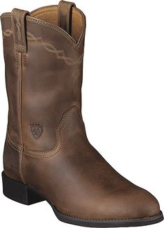 Ariat Heritage Roper Western Boot Style 10 Inch Men Shoes 10002284