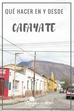 Cafayate es una pitoresca y pequeña ciudad en Salta, desde donde se pueden hacer muchas excursiones y disfrutar increíbles paisajes. Les contamos cuáles y nuestra experiencia. #salta #cafayate #argentina #viajarconniños #viajarenfamilia #viñedos Bolivia, Chile, Peru Ecuador, Road Trip, Places To Visit, Travelling, Wanderlust, Ideas, Buenos Aires
