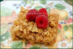 Poetry In A Pot Of Tea: Baked Oatmeal- Who Knew?
