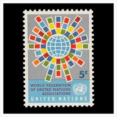 UN Stamps (yes, the UN has its own postal service)—A.T.