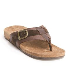 Take a look at this Chocolate Marlo Sandal - Men by EMU Australia on #zulily today!