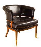 The Swivel Quiver Klismos Chair