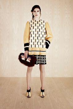 June's fashion inspiration: Fendi Resort 2014 on my blog, http://myfashiondfelicity.blogspot.com!