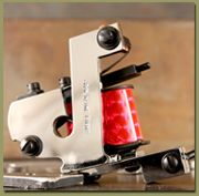 Tattoo Machines: Chris Smith Plated Welded One-Off Shader NOW available on the Workhorse site.