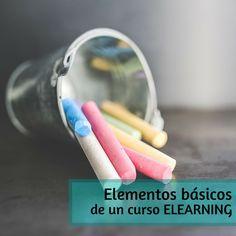Los elementos básicos de un curso eLearning