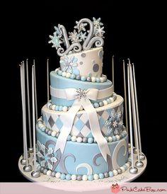 Our Top 5 Winter Wonderland Themed Cakes | http://blog.pinkcakebox.com/winter-wonderland-2014-02-05.htm