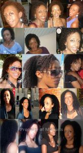 A summary look at my hair journey from when I was transitioning to the present day