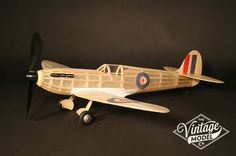 Supermarine Spitfire - One of our favourite and most popular balsa model kits