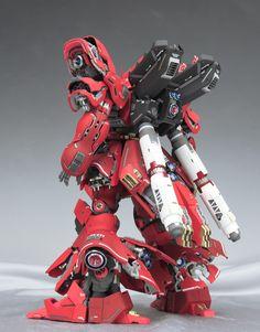 GUNDAM GUY: MG 1/100 Sazabi Ver. Ka - Customized Build