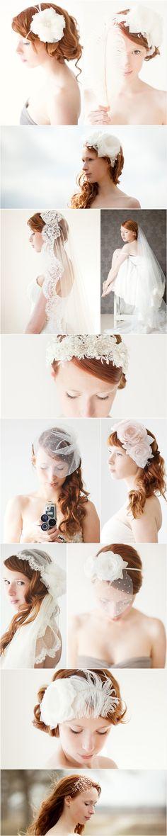 Sibo Design Headpiece and Veils