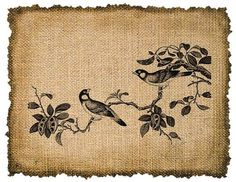 Image Transfer / Printing on burlap is an inventive way to create a ...