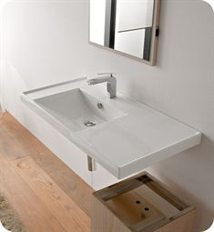 "Nameeks 3008 Scarabeo Bathroom Sink  Product Code: Scarabeo-3008  36 1/4""W x 18 1/2""D x 2""H  $573.75$765.00"