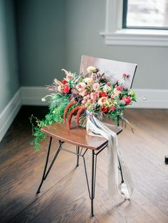 Styled Shoot from Jordan Brittley Photography and featured on Grey Likes Weddings. #weddingbouquet #bridalbouquet