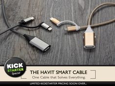 Finally One Charging Cable that can Solve All Your Problems...