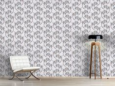 Design #Tapete Zweiglein Delicate, Curtains, Shower, Prints, Design, Home Decor, Self Adhesive Wallpaper, Wall Papers, Rain Shower Heads