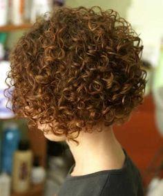 Más de 20 cortes de pelo corto rizado //  #Cortes #corto #más #pelo #rizado