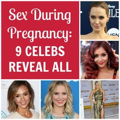 These Hollywood stars don't hold back on sharing their cravings, experiences, and questions about pregnancy sex. (via Parents.com)