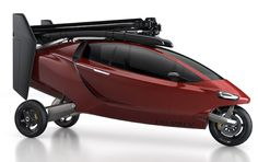 The Personal Air and Land Vehicle (PAL-V) is a gyrocopter and a car.    #future #tech