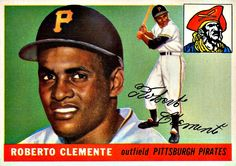 164 - Roberto Clemente RC - Pittsburgh Pirates