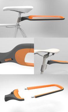 Velo Design, Range Velo, Transportation, Metal Lattice, Baggage, Custom In
