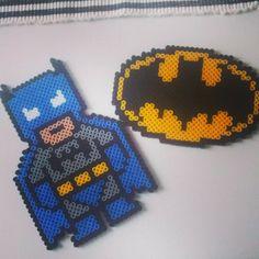 Batman hama beads by nananajohanna