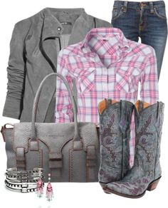 """""""Modern Cowgirl"""" by happygirljlc on Polyvore. Hands down, my absolute favorite outfit so far.."""