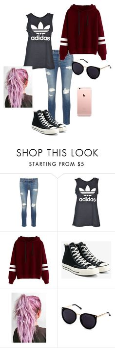 """""""Casual"""" by hannahscheepers ❤ liked on Polyvore featuring interior, interiors, interior design, home, home decor, interior decorating, rag & bone/JEAN, adidas and Converse"""
