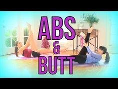 Beginners Abs & Butt Workout