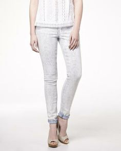 Chelsea fit jeans in washed-out print If only I had a friend who could get me a discount @Tasha Fullerton..... Sigh