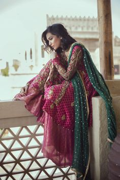 """Ansab Jahangir Zahira Bridals F/W 2016 "" Pakistani couture"