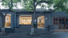 A former house in Beijing's old town is transformed into a specialist fan shop with a minimalist oak-lined interior, in this project by Golucci Interior Architects. Lounge Design, Lounge Decor, Character Curtains, Rustic Wood Shelving, Magnolia Market, Inside Design, Retail Interior, Boutique, Baby Design