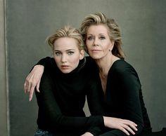 Jennifer Lawrence and Jane Fonda