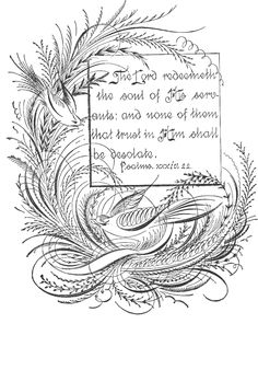 StarSunflower Studio: Free Vintage Clipart - Spencerian Calligraphy Birds