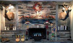 Random fall decor. Pumkin turkeys and scarecrows