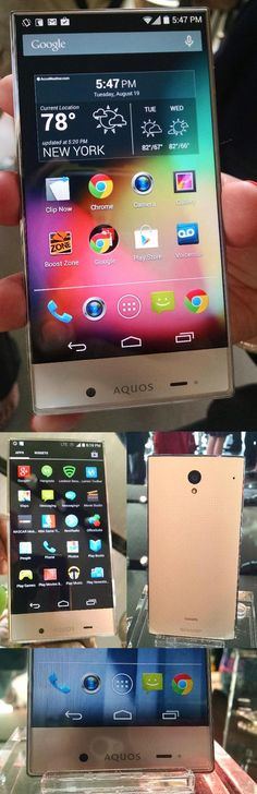 Sharp AQUOS Crystal: A high-end Android smartphone at low-end pricing? That's what Sprint hopes to offer with the new @sharpaquos unit, which has a bright 5-inch display, a front-facing 1.2MP camera set on the bottom instead of the top and an extra mic on the back to help it detect and cancel out unwanted noises. The unit will be $10 a month with a Sprint service plan or $150 with Virgin Mobile USA or Boost Mobile prepaid service. For more, read the Aug. 23 edition of the @nydailynews.