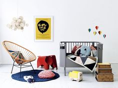 i'm no baby, but i love this room! [Baby's room] Baby Decor, Kids Decor, Nursery Decor, Home Decor, Project Nursery, Nursery Ideas, Kids Corner, Baby Bedroom, Kids Bedroom
