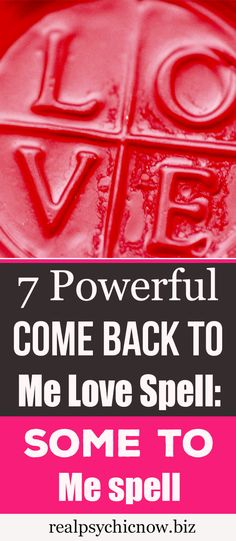 Are you ready to learn the 7 Powerful Come Back To Me Love Spell; The Come To Me Spell to Get Love the love of your life? Getting Over Someone, Getting Him Back, Love Spell That Work, My Love, Curse Spells, Magick Spells, Happiness Spell, Wish Spell, Witchcraft Spells For Beginners