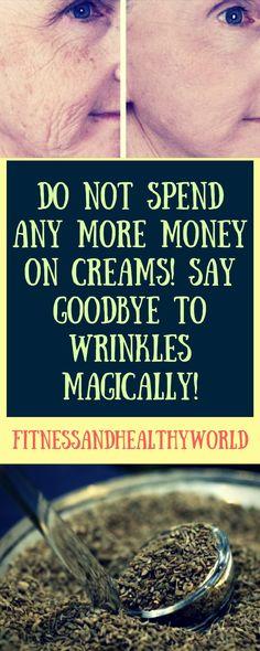 #money #cream #wrinkles #homemade #DIY #magic