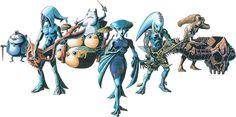 Les Indigo-Gos sont un groupe musical composé de cinq Zoras :