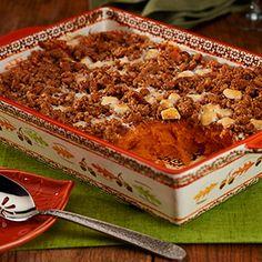 Sweet Potato Casserole with Marshmallows & Pecans - David Venable QVC