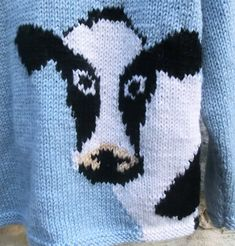Intarsia Knitting, Baby Boy Knitting Patterns, Baby Sweater Knitting Pattern, Intarsia Patterns, Knitting Charts, Knitting For Kids, Crochet Cow, Yarn Shop, Baby Sweaters